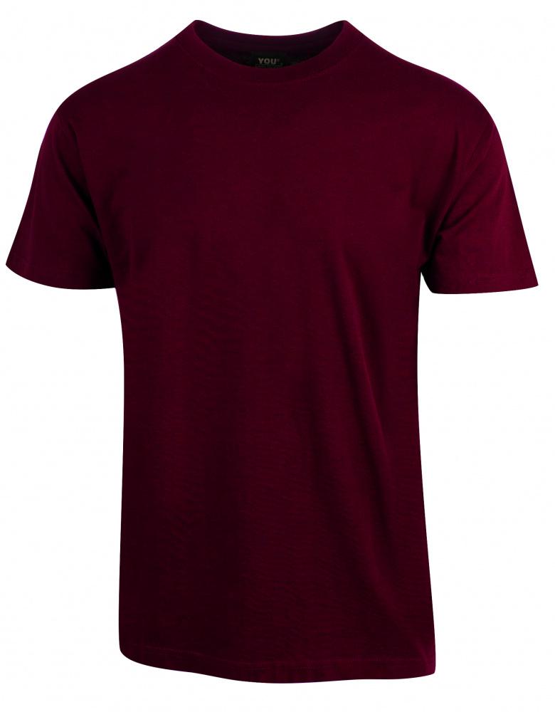 vinrød skjorte
